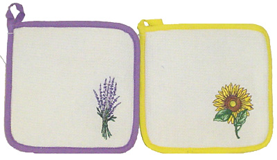 Pot-Holder Lavender or Sunflower