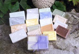 Scented Moulded French Soaps