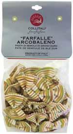 Collitali Arcobaleno (Rainbow) Farfalle (Bowtie Pasta)